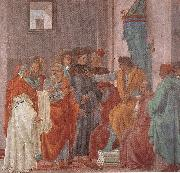 Disputation with Simon Magus and Crucifixion of Peter (right view) sg LIPPI, Filippino